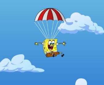 Spongyabob ejtőernyőzik játék telefonra